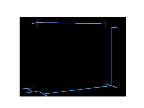 Horizontal Full Murphy Bed (closed)
